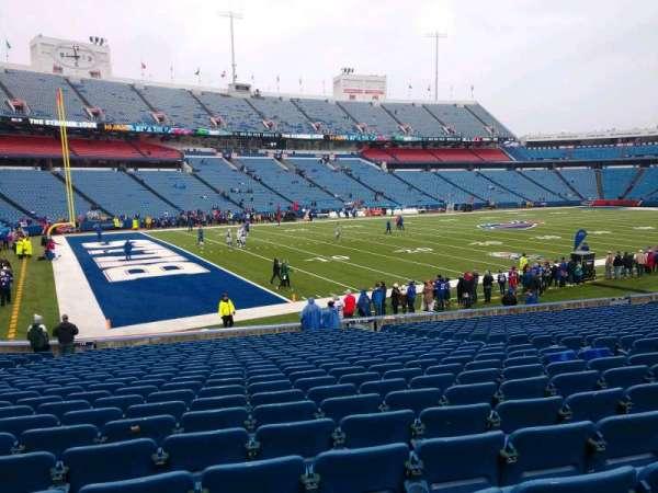 Highmark Stadium, secção: 116, fila: 24, lugar: 10