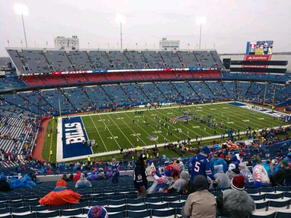 Buffalo Bills Stadium, secção: 337, fila: 26, lugar: 11