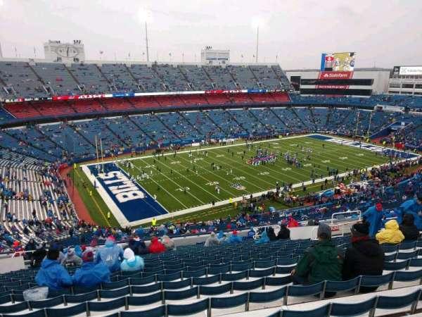 Buffalo Bills Stadium, secção: 338, fila: 25, lugar: 17