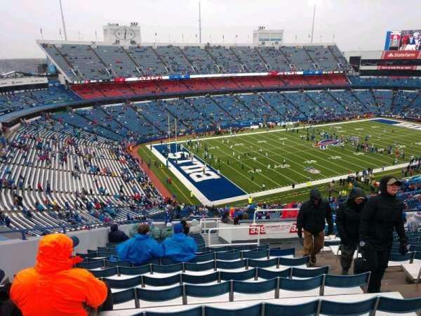 Buffalo Bills Stadium, secção: 339, fila: 22, lugar: 4