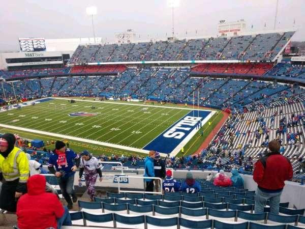 Buffalo Bills Stadium, secção: 306, fila: 20, lugar: 6