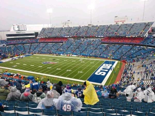 Buffalo Bills Stadium, secção: 307, fila: 21, lugar: 13