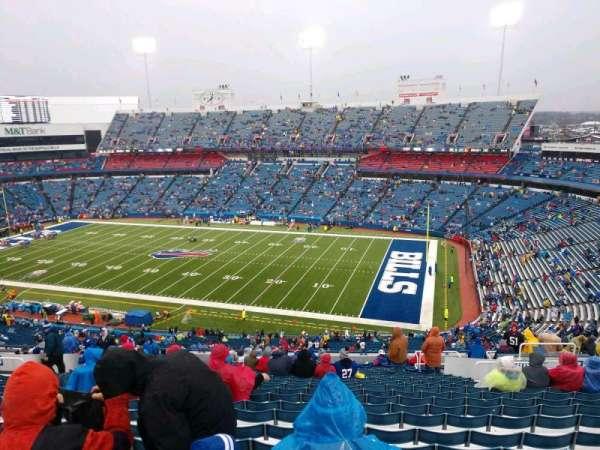 Buffalo Bills Stadium, secção: 308, fila: 25, lugar: 11