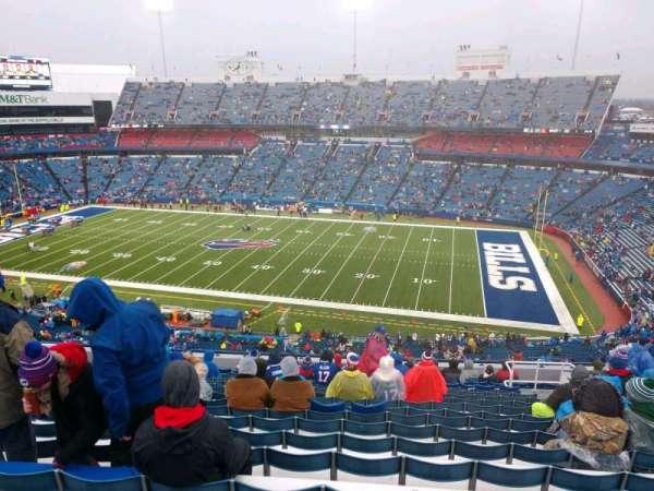 Buffalo Bills Stadium, secção: 309, fila: 19, lugar: 12