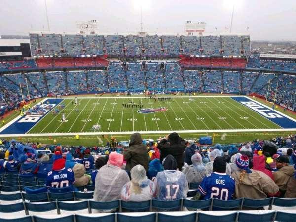 Buffalo Bills Stadium, secção: 312, fila: 27, lugar: 19