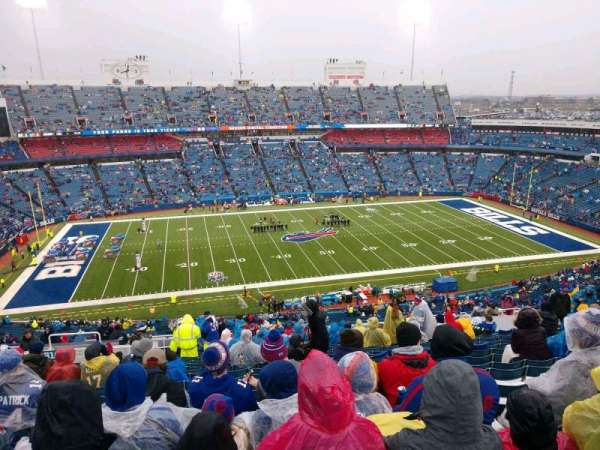 Buffalo Bills Stadium, secção: 313, fila: 27, lugar: 22