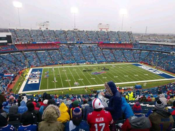 Buffalo Bills Stadium, secção: 314, fila: 24, lugar: 11