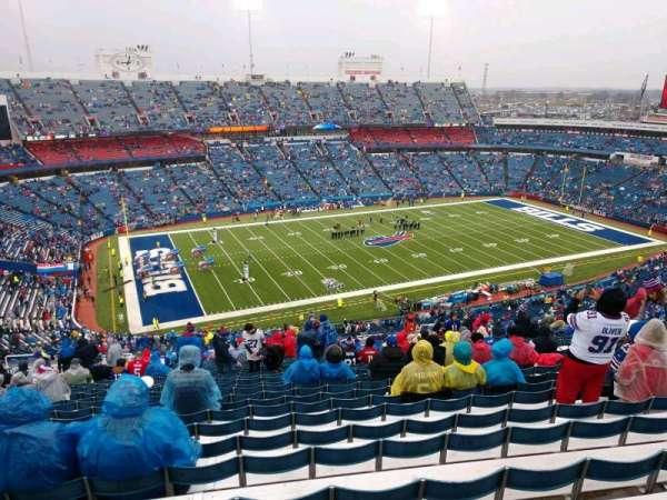 Buffalo Bills Stadium, secção: 315, fila: 34, lugar: 16