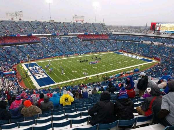 Buffalo Bills Stadium, secção: 316, fila: 33, lugar: 11