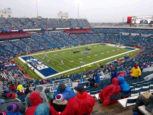 Buffalo Bills Stadium, secção: 317, fila: 22, lugar: 3