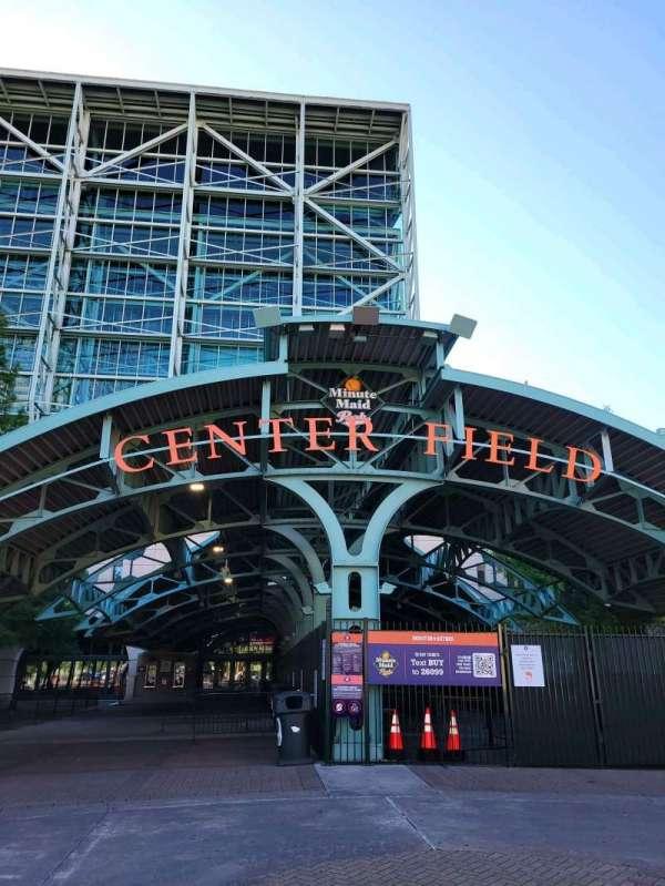 Minute Maid Park, secção: Center field gate