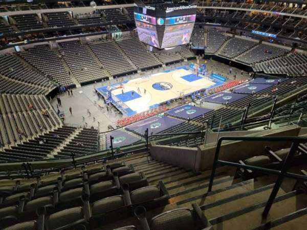 American Airlines Center, secção: 330, fila: m, lugar: 9