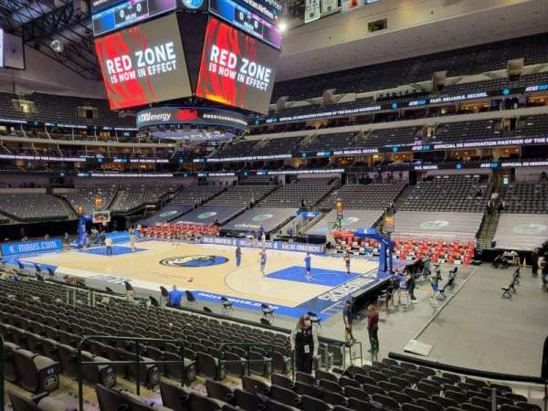 American Airlines Center, secção: 104, fila: H, lugar: 10