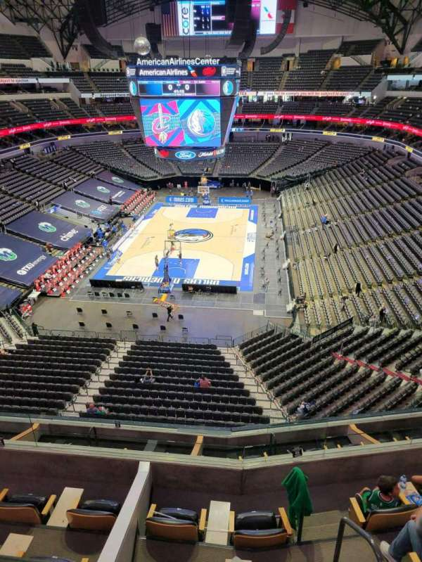 American Airlines Center, secção: 317, fila: A, lugar: 10