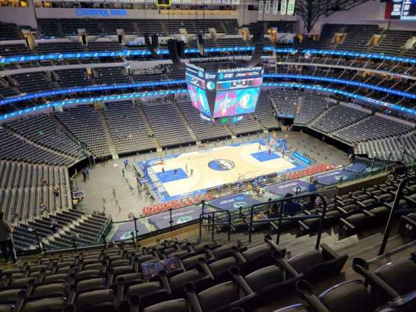 American Airlines Center, secção: 329, fila: R, lugar: 5