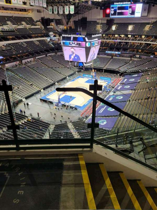American Airlines Center, secção: 332, fila: G, lugar: 10