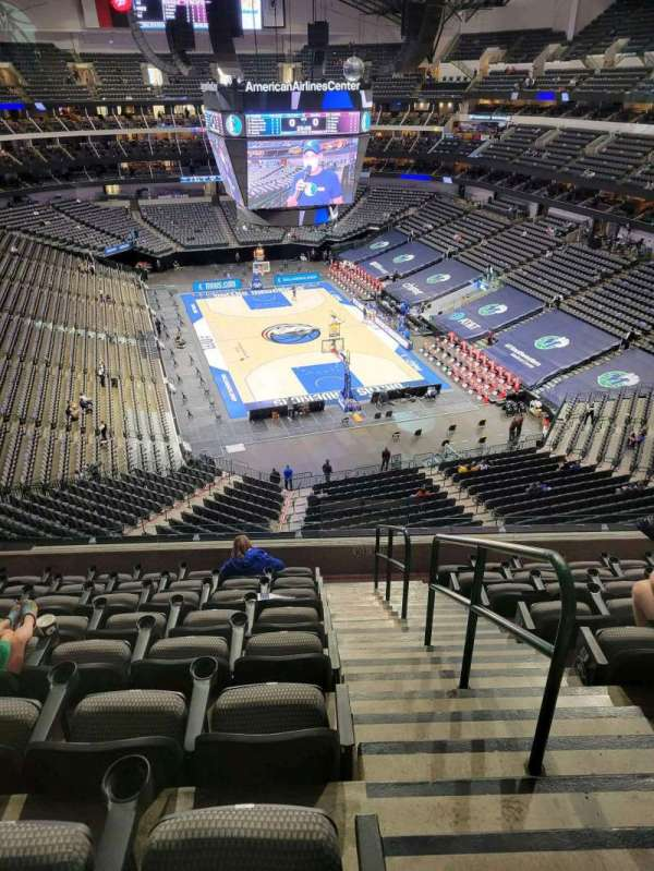 American Airlines Center, secção: 303, fila: C, lugar: 1
