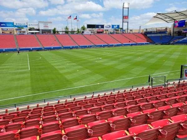 Toyota Stadium, secção: 103, fila: 10, lugar: 10