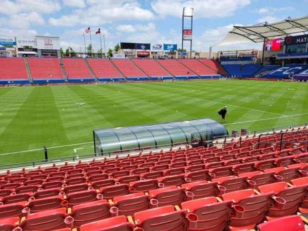 Toyota Stadium, secção: 104, fila: 12, lugar: 10