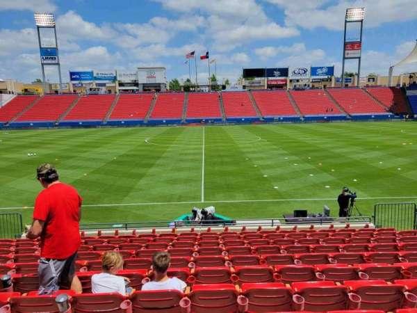 Toyota Stadium, secção: 106, fila: 11, lugar: 11