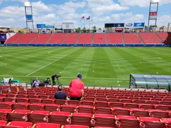 Toyota Stadium, secção: 107, fila: 13, lugar: 10