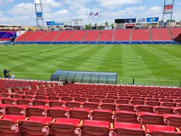Toyota Stadium, secção: 108, fila: 16, lugar: 10
