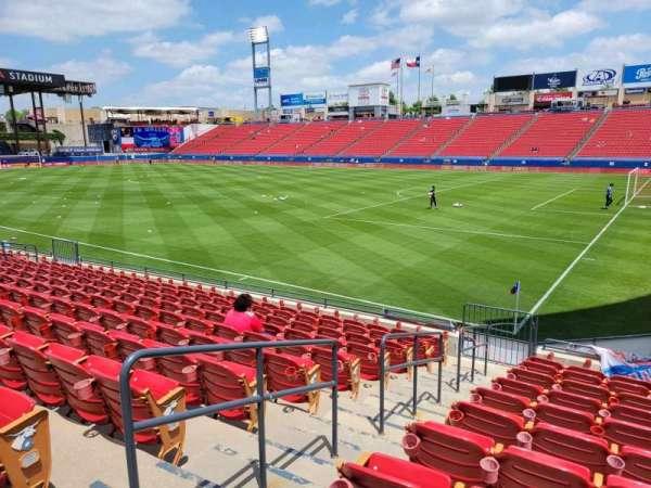 Toyota Stadium, secção: 111, fila: 11, lugar: 3