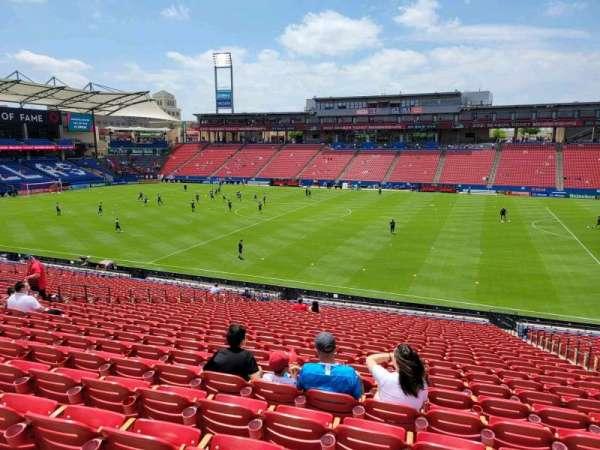Toyota Stadium, secção: 129, fila: 29, lugar: 20