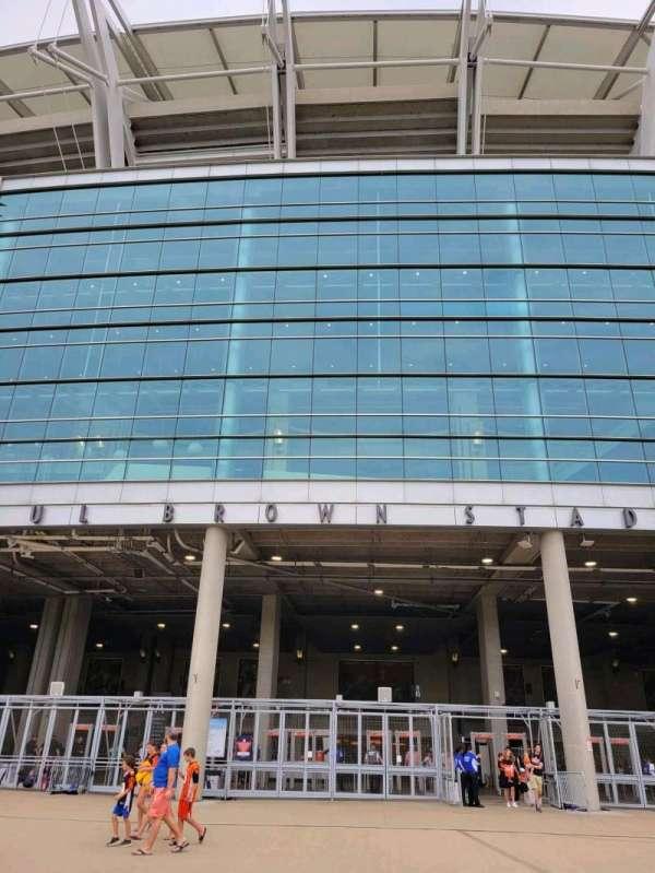 Paul Brown Stadium, secção: Gate A
