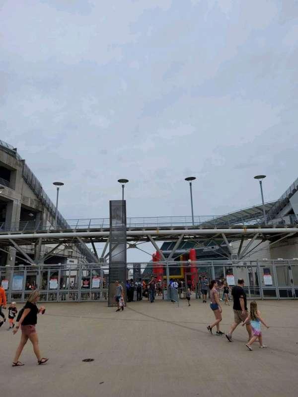 Paul Brown Stadium, secção: Gate C