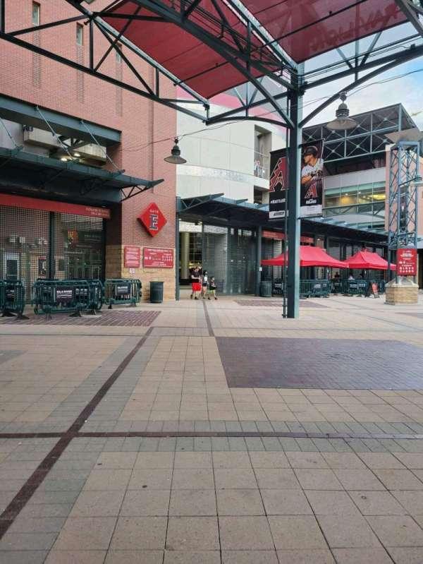 Chase Field, secção: Gate E