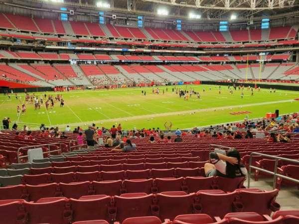 State Farm Stadium, secção: 135, fila: 28, lugar: 21