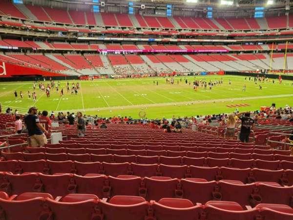 State Farm Stadium, secção: 135, fila: 30, lugar: 10