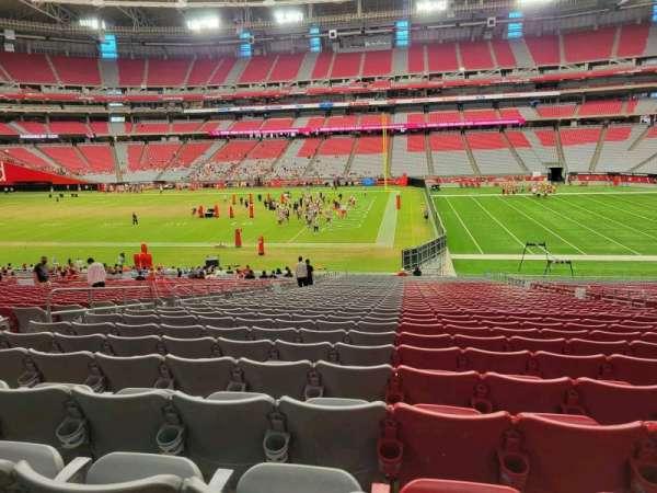 State Farm Stadium, secção: 128, fila: 38, lugar: 10