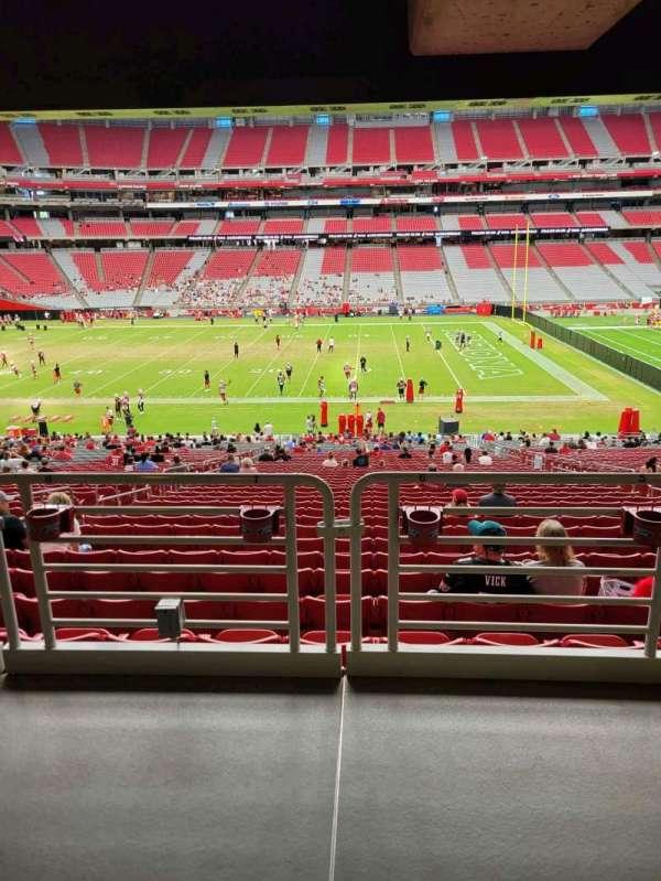 State Farm Stadium, secção: 130, fila: 41, lugar: 7