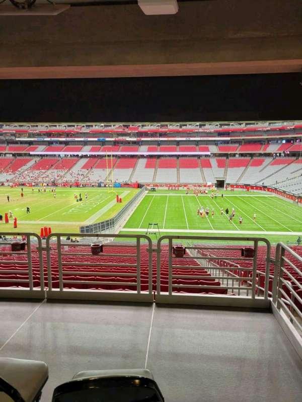 State Farm Stadium, secção: 127, fila: 41, lugar: 2