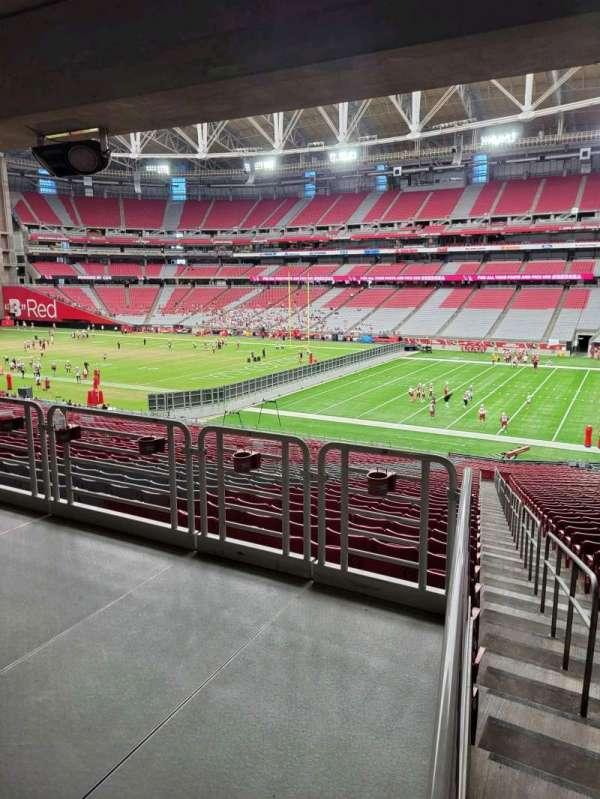 State Farm Stadium, secção: 125, fila: 41, lugar: 16