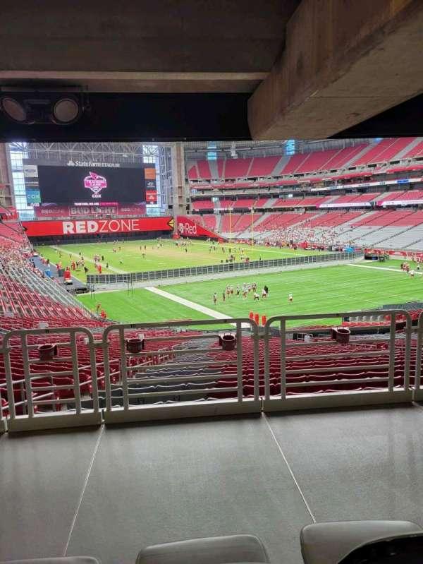 State Farm Stadium, secção: 123, fila: 41, lugar: 10