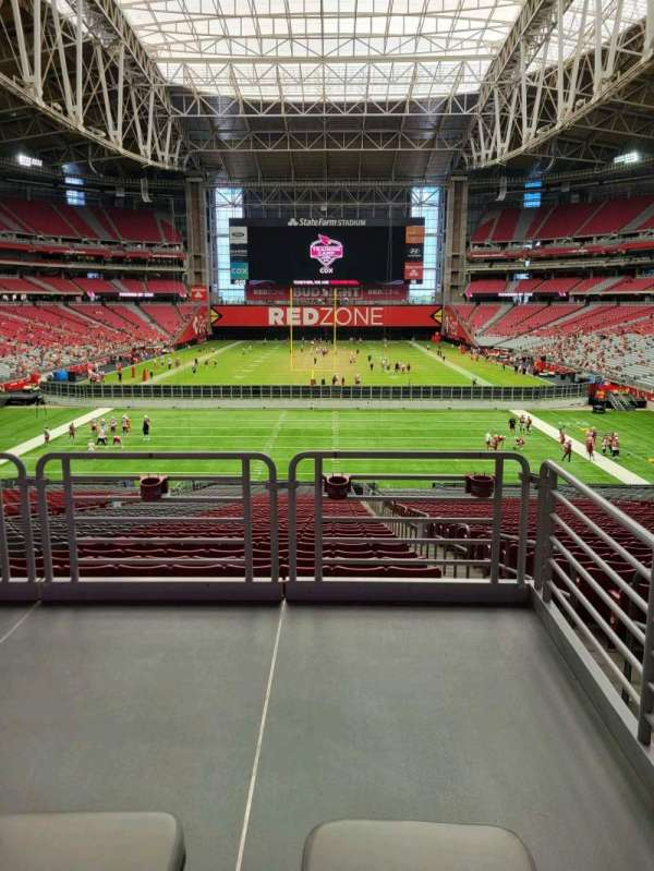 State Farm Stadium, secção: 119, fila: 41, lugar: 2