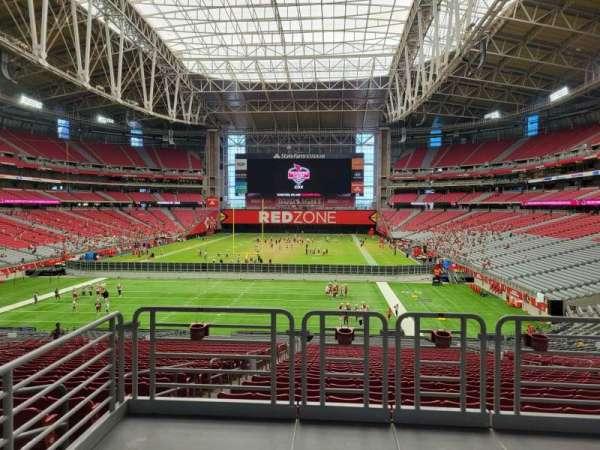 State Farm Stadium, secção: 117, fila: 41, lugar: 11
