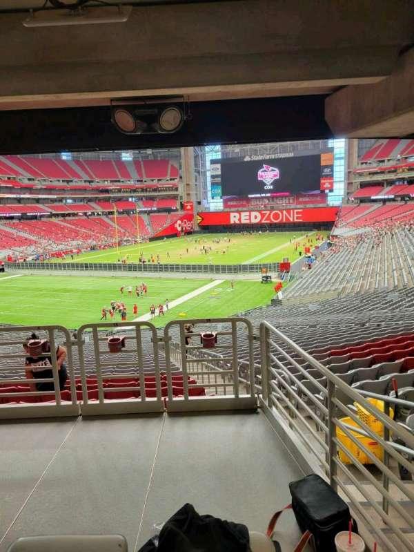 State Farm Stadium, secção: 115, fila: 41, lugar: 15