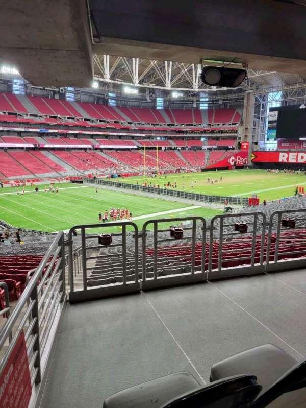 State Farm Stadium, secção: 114, fila: 41, lugar: 12