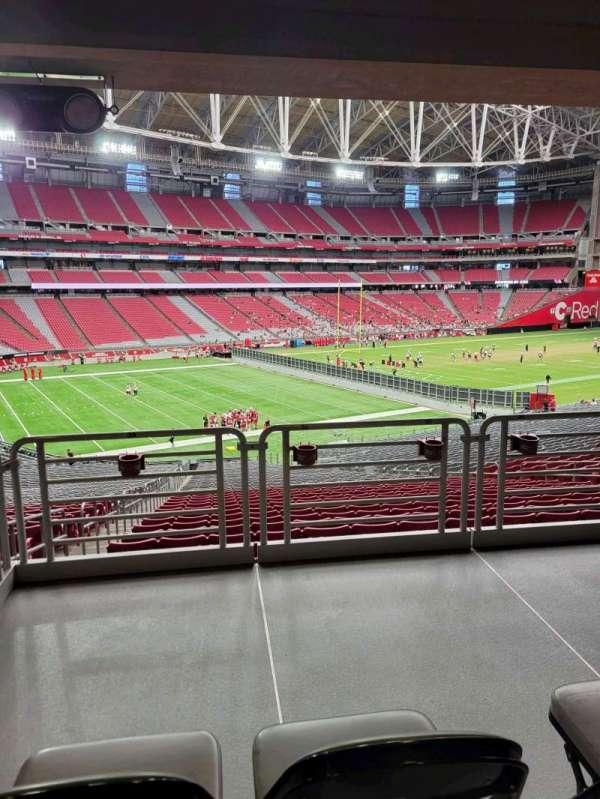 State Farm Stadium, secção: 113, fila: 41, lugar: 32