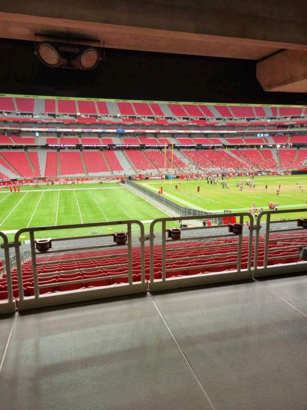 State Farm Stadium, secção: 112, fila: 41, lugar: 10