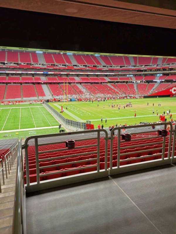 State Farm Stadium, secção: 111, fila: 41, lugar: 10