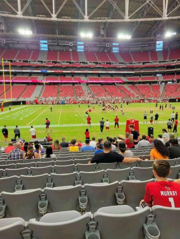 State Farm Stadium, secção: 108, fila: 13, lugar: 13