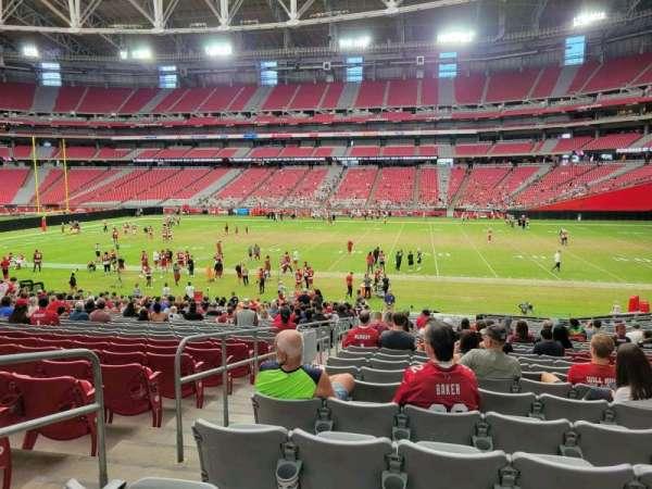State Farm Stadium, secção: 104, fila: 27, lugar: 19