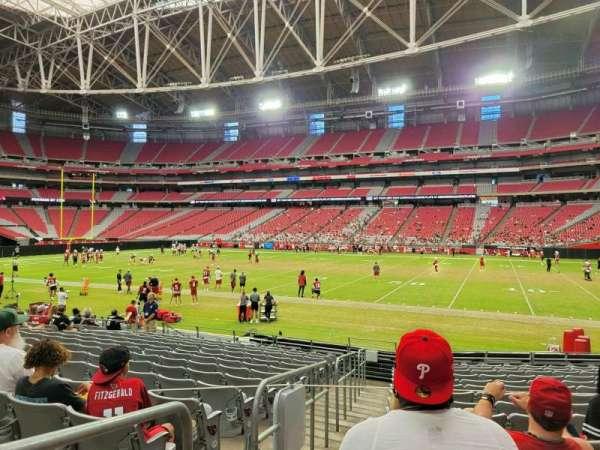 State Farm Stadium, secção: 103, fila: 14, lugar: 23