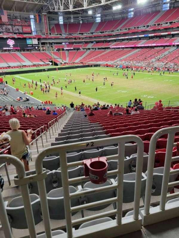 State Farm Stadium, secção: 101, fila: 41, lugar: 22