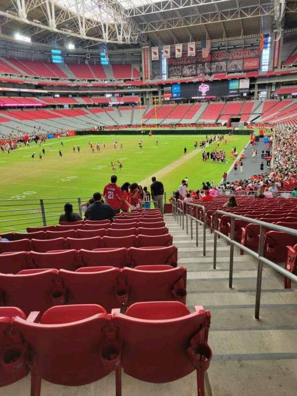 State Farm Stadium, secção: 137, fila: 37, lugar: 19
